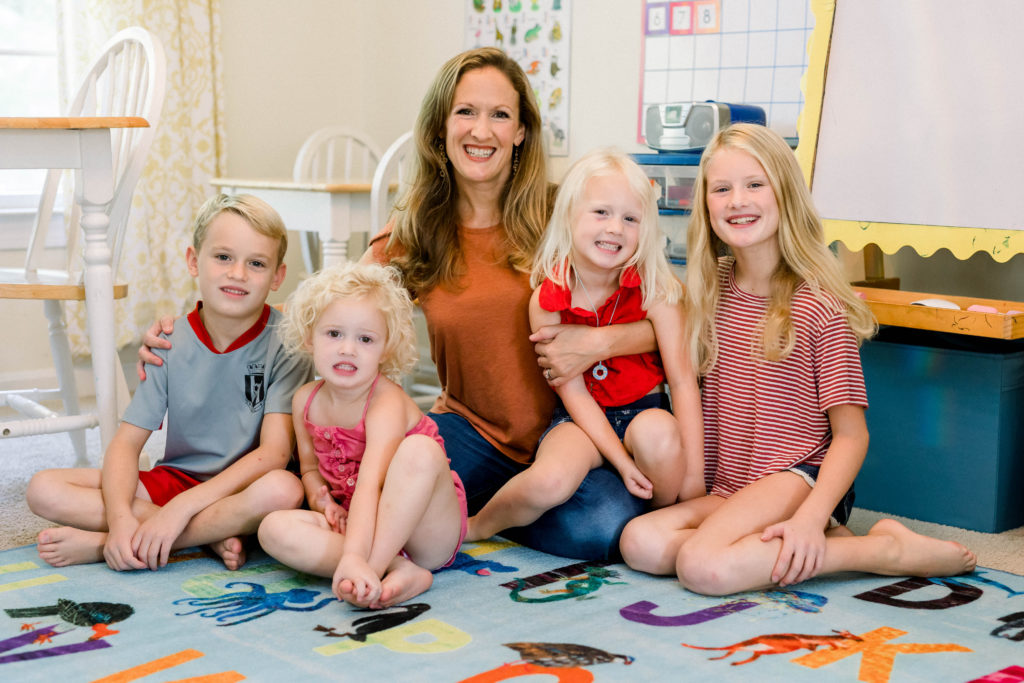 Why a mom of four decided to home-school her kids this year