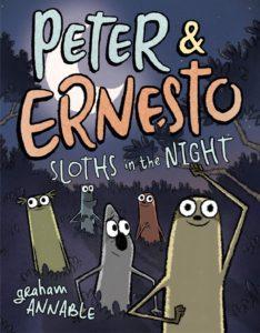 Peter and Ernesto children's Halloween book