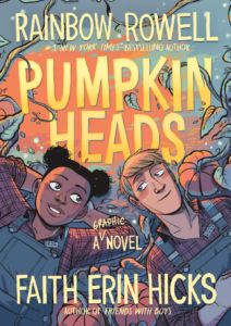 Pumpkin Heads young adult book for Halloween